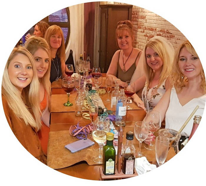 Hen Party Ideas For Small Groups: Paneils Hen Party: The Perfect Restaurant For A Hen Night